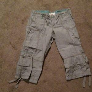 Crop pants with ties juniors